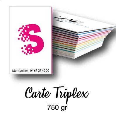 Cartes Triplex