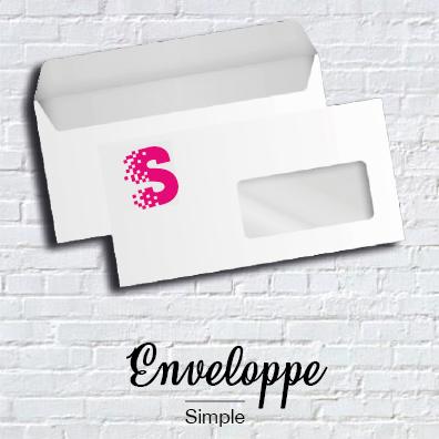 Enveloppes simple