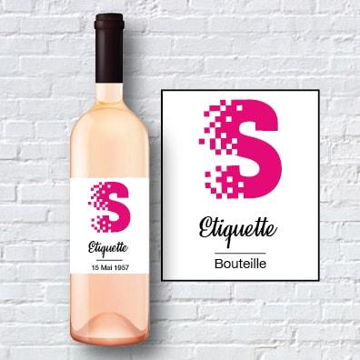 Etiquette bouteille