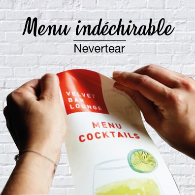 Menus Indechirable