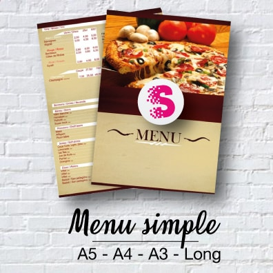 Menus simple