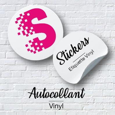 Etiquette vinyl