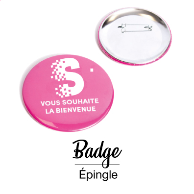 Badge épingle