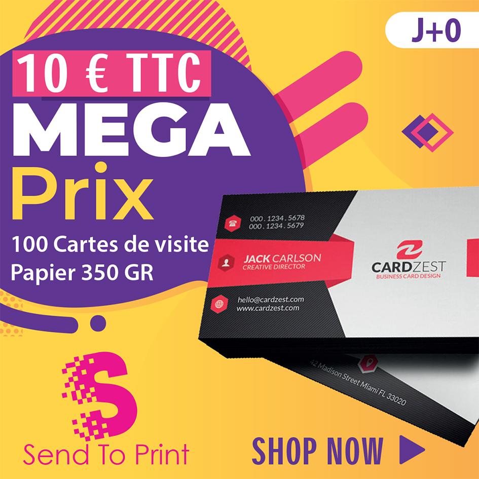 cartes de visite 10€