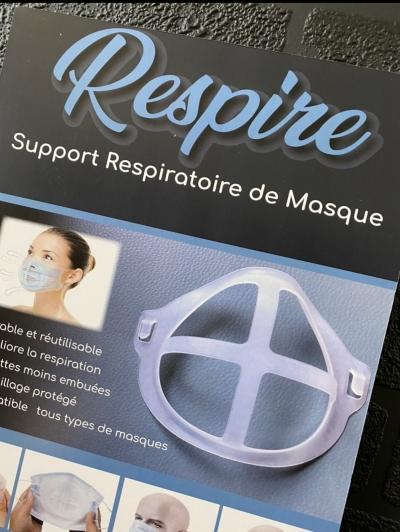 Support respiratoire pour masque