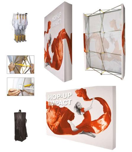 Stand parapluie textile