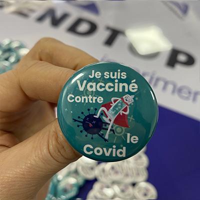 Badge Vacciné COVID19